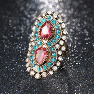 Just In! Pink Tourmaline Infinity Statement Ring